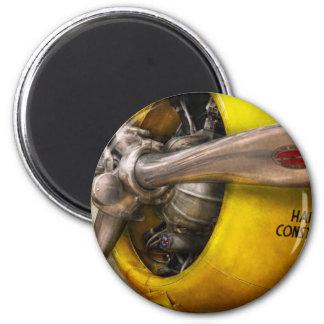 Plane - Pilot - Prop - Twin Wasp 2 Inch Round Magnet