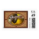 Plane - Pilot - Prop - Twin Wasp Postage Stamp