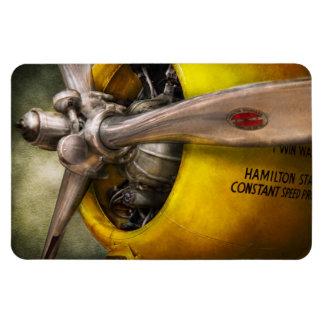 Plane - Pilot - Prop - Twin Wasp Rectangular Photo Magnet