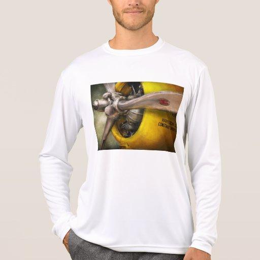 Plane - Pilot - Prop - Twin Wasp Tshirt