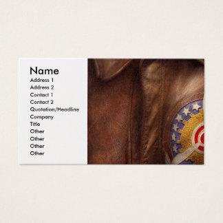 Plane - Pilot - The flight jacket Business Card