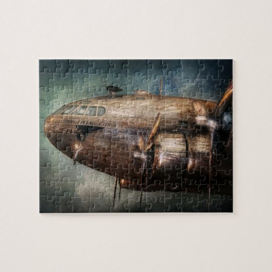 Plane - Pilot - The flying cloud Jigsaw Puzzle