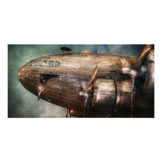 Plane - Pilot - The flying cloud Picture Card
