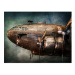Plane - Pilot - The flying cloud Postcard