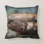 Plane - Pilot - The flying cloud Throw Pillow