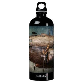 Plane - Pilot - The flying cloud Water Bottle