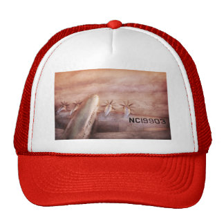 Plane - Pilot - Tropical getaway Hats