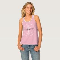 Plane Pink   Nautical Girl Tank Top