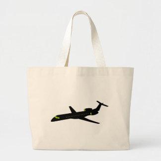 Plane - Plane (03) Large Tote Bag