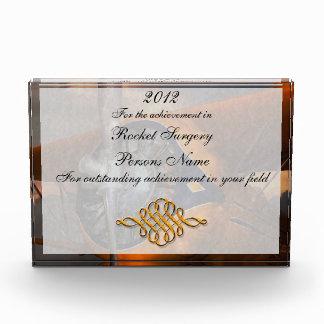 Plane - Prop - The Gulfhawk Acrylic Award