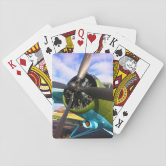 Plane Propeller Playing Cards