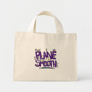Plane Smooth Tote Bag