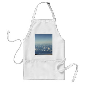 Plane Themed, Cumulonimbusscenery Look From Airpla Adult Apron
