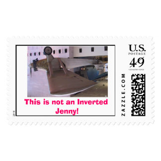 Plane, This is not an Inverted Jenny! Postage Stamps