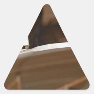 Plane Triangle Sticker