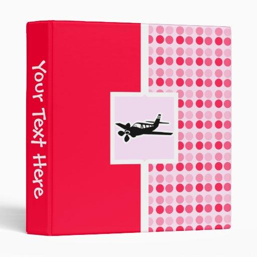 Plane Vinyl Binders