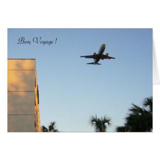 plane voyages card