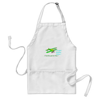 PLANE WITHOUT PROPELLER 1.PNG ADULT APRON