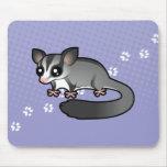 Planeador del azúcar del dibujo animado tapete de raton
