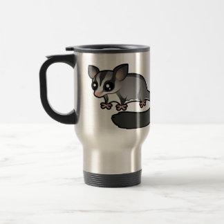Planeador del azúcar del dibujo animado taza de café