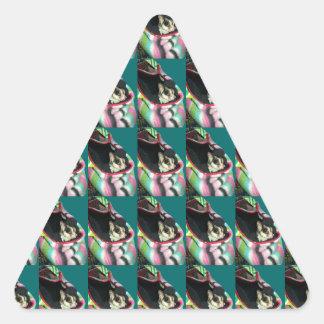 Planeador del azúcar que lleva un gorra calcomania trianguladas personalizadas
