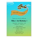 Planeador - fiesta de cumpleaños Invitation-4 Invitación