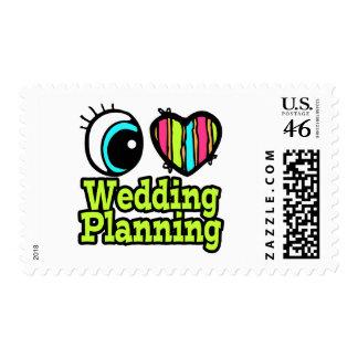 Planeamiento brillante del boda del amor del coraz