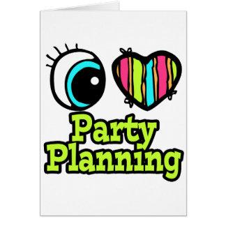 Planeamiento brillante del fiesta del amor del tarjeta de felicitación