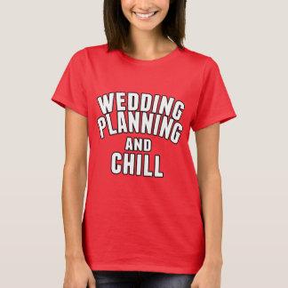 Planeamiento y frialdad del boda playera