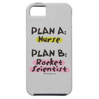 Planee a un científico del plan B Rocket de la iPhone 5 Protector
