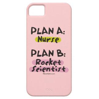 Planee a un científico del plan B Rocket de la iPhone 5 Cárcasa