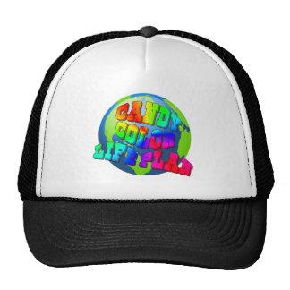 Planee una vida del color del caramelo gorras de camionero