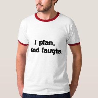 Planeo risas de dios remera
