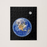 Planer Earth and Moon Puzzles