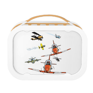 Planes and Helicopters Kids Lunchbox