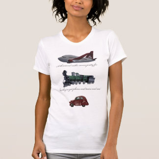 planes and trains and cars T-Shirt