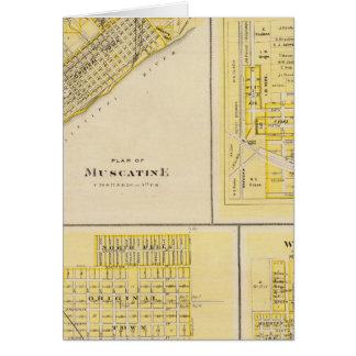 Planes de Muscatine, libertad del oeste Tarjeta