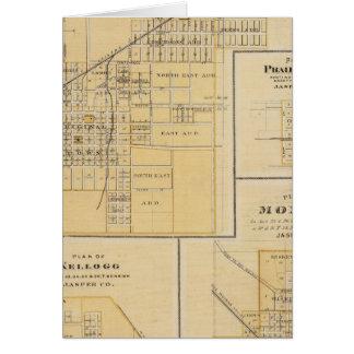 Planes de Newton, ciudad de la pradera Tarjeta De Felicitación