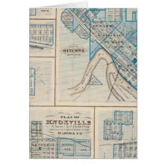 Planes de Ottumwa, Russell, Scranton Tarjeton