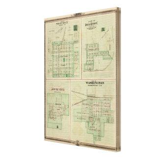 Planes de Sigourney Brighton Impresión En Lona