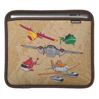 Planes Group iPad Sleeves