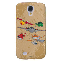 Planes Group Samsung Galaxy S4 Case