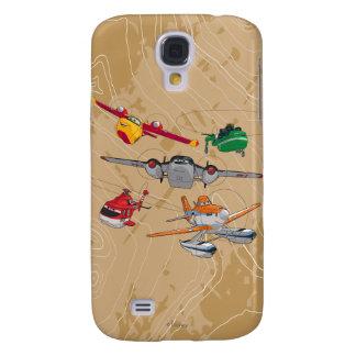 Planes Group Samsung Galaxy S4 Case