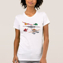 Planes Group T-Shirt