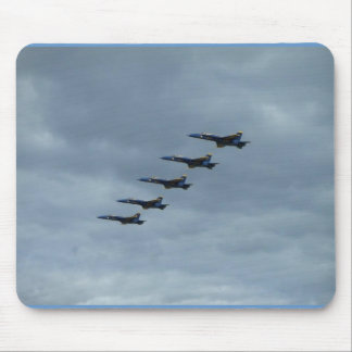 Planes In A Row Mouse Pad