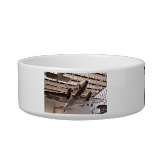 Planes in show pet water bowls
