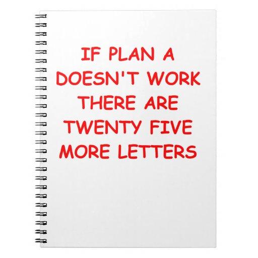 planes libreta