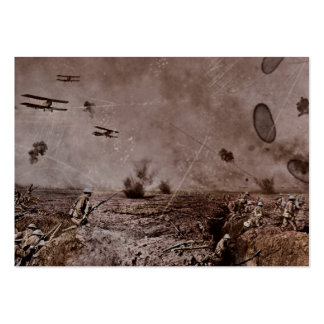 Planes Near Polygon Wood WWI Large Business Card