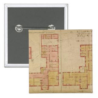 Planes para la casa roja, brezo de Bexley, 1859 (e Pin Cuadrado