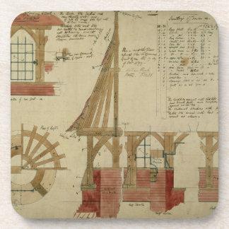 Planes para la casa roja, brezo de Bexley (pluma y Posavasos De Bebidas